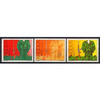 1991 Ангола. 30-летие движения за независимость. Униформа борцов за свободу