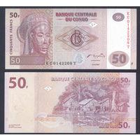Конго 50 2007 год из пачки