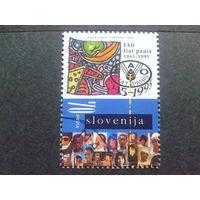 Словения 1995 50 лет ООН