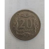 20 грошей 1990, Польша