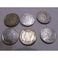 Венесуэла, 20 боливар 1999, 2000, 2001, 2002 год