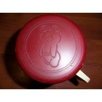 Термокружка . Олимпиада 80 . Олимпийский мишка СССР