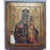 """Икона Божией Матери """"Неувядаемый цвет"""" 15 х 17,5 см"""