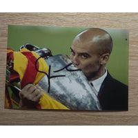 Фото с автографом Пеп Гвардиола,(Josep Guardiola).