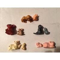 Киндер из серии Животные с детенышами (цена за одну пару)