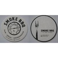 Подставка под пиво бара Smoke BBQ / Россия/.