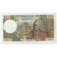 Франция, 10 франков 1972 год