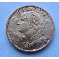 Швейцария, 20 франков, 1947, золото