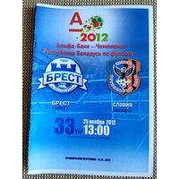 Динамо (Брест)-Славия-25.11.2012