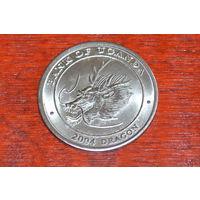 Уганда 100 шиллингов 2004