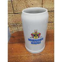 Большой (1 литр) бокал для пива. Германия