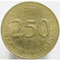 Ливан 250 ливров 2009
