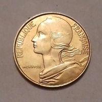 20 сантим, Франция 1987, 1988, 1992, 1994 г., AU