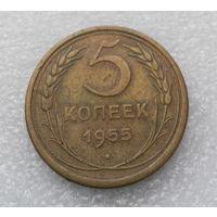 5 копеек 1955 года СССР #09