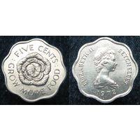 W: Сейшелы, Сейшельские острова 5 центов 1972 (697)