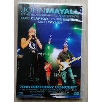 DVD. John Mayall. 70th Birthday Concert