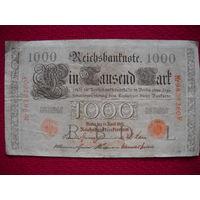 Германия 1000 марок 1910 г.