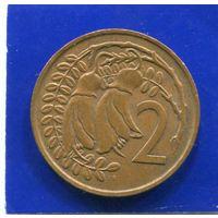 Новая Зеландия 2 цента 1967