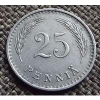Финляндия. 25 пенни 1938
