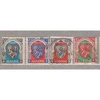 Французские колонии флот корабли парусники герб Алжир 1947-1949 год лот 1012 МОЖНО РАЗДЕЛЬНО