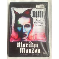 РАСПРОДАЖА DVD! MARILYN MANSON - LEST WE FORGET - THE BEST OF