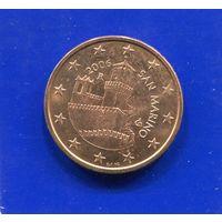 Сан Марино 5 евроцентов 2006 UNC