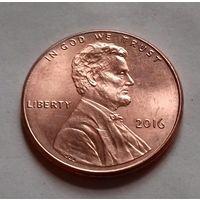 1 цент США 2016, 2016 D, AU