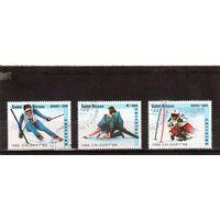 Гвинея-Биссау.Спорт.Зимние олимпийские игры.Калгари.1988.