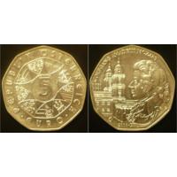 Австрия  5 евро 2006 г Моцарт