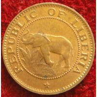 7768:  1 цент 1977 Либерия
