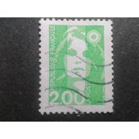 Франция 1990 стандарт 2,00
