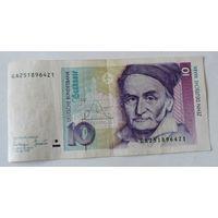10 марок 1993г. ФРГ