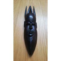 """Африканская маска. Черное дерево """"эбен"""""""