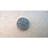 Бельгия 1 франк, 1990г.'BELGIQUE' (sb-1)