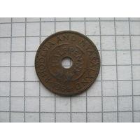 Родезия и Ньясаленд 1/2 пенни 1964г.