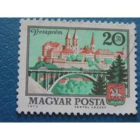 Венгрия 1973г. Архитектура.