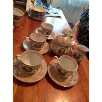 Набор для кофе на 5 персон Польша