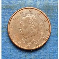 Бельгия 1 евроцент 2013