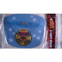Казырёк - кепка с логотипом рок кемпа 8 шт. распродажа