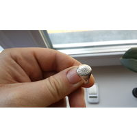 Кольцо Серебро СССР 875