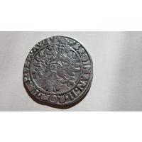 Монета флорин Германия Священная Римская империя г. Эмбден. Серебро