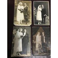Свадебные фотою.1920-е.годы.цена за все.