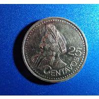 Гватемала 25 центаво 2000 г. Продажа коллекции. С 1 рубля.