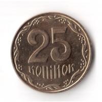 25 копеек 2013 год Украина