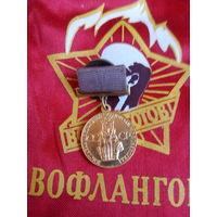 Медаль. ВДНХ СССР. За успехи в народном хозяйстве ВИНТ  АУКЦИОН С 1 РУБЛЯ