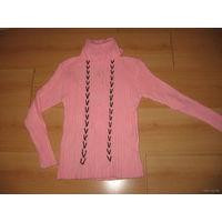 Розовый свитер 10-13 лет