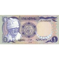 Судан 1 фунт образца 1983 года UNC p25