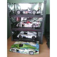3 модели Audi и модель BMW 1/18 Maisto Le Mans