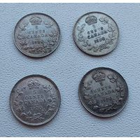 Канада 5 центов, 1920  7-6-38*41