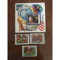 Танзания 1994. Чемпионат мира по футболу 1994.